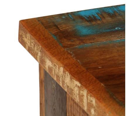 "vidaXL TV Cabinet 47.2""x11.8""x15.7"" Solid Reclaimed Wood[7/14]"