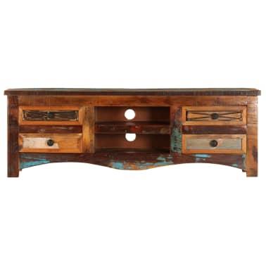 "vidaXL TV Cabinet 47.2""x11.8""x15.7"" Solid Reclaimed Wood[2/14]"