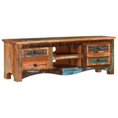 "vidaXL TV Cabinet 47.2""x11.8""x15.7"" Solid Reclaimed Wood[12/14]"