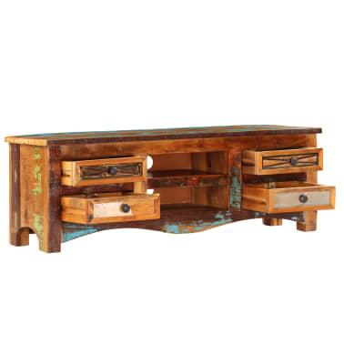 "vidaXL TV Cabinet 47.2""x11.8""x15.7"" Solid Reclaimed Wood[3/14]"