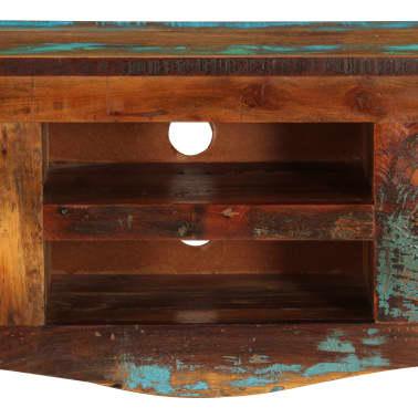 "vidaXL TV Cabinet 47.2""x11.8""x15.7"" Solid Reclaimed Wood[4/14]"