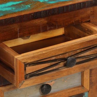 "vidaXL TV Cabinet 47.2""x11.8""x15.7"" Solid Reclaimed Wood[8/14]"