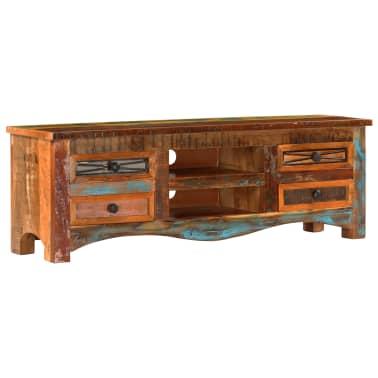 "vidaXL TV Cabinet 47.2""x11.8""x15.7"" Solid Reclaimed Wood[10/14]"