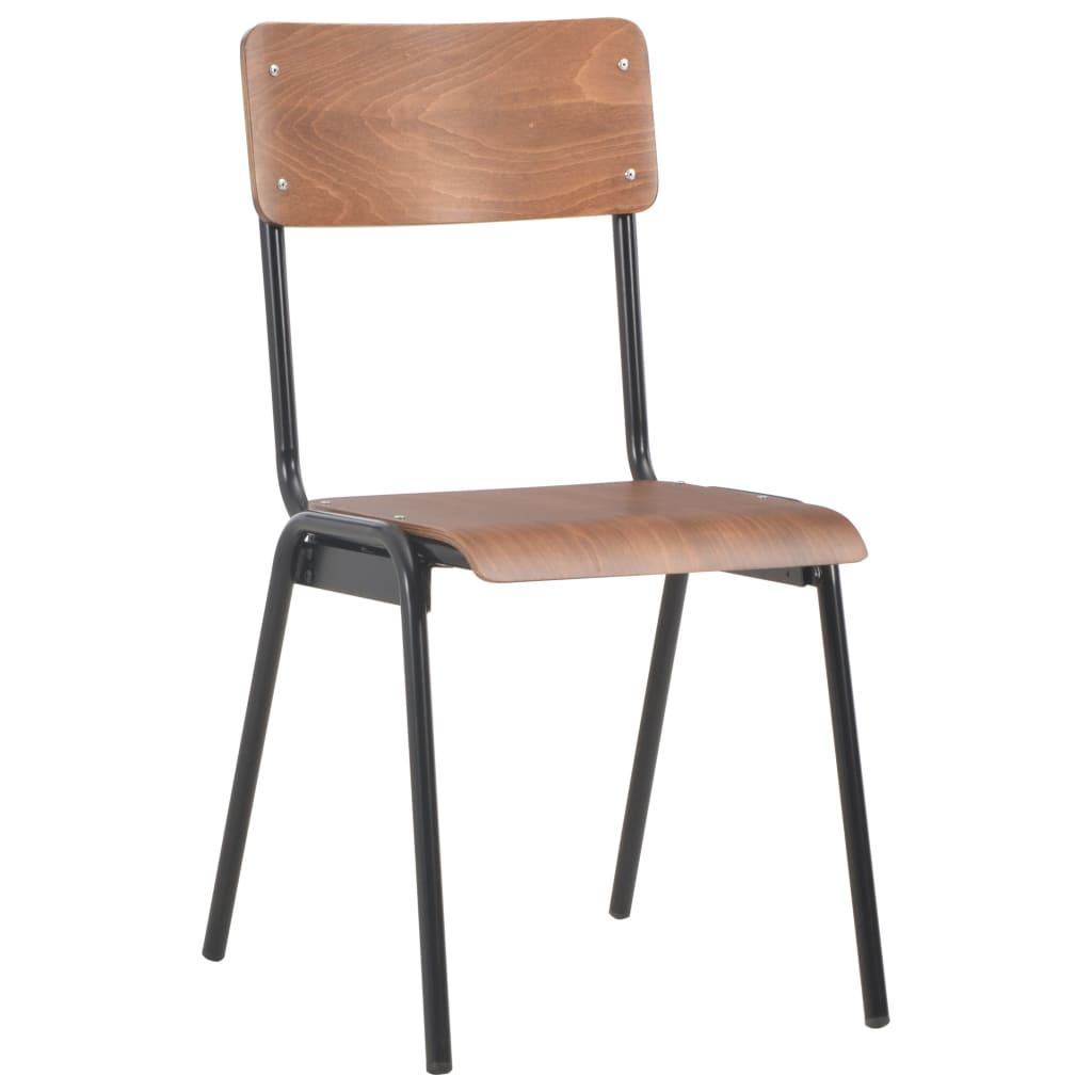 Komplet, składający się z 4 krzeseł o prostej, a zarazem eleganckiej formie, będzie cudownym dodatkiem do Twojej jadalni lub kuchni.