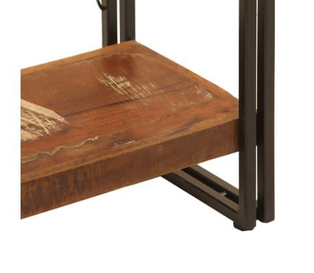 vidaXL Regał na książki, 5 półek, 140x30x180 cm, lite drewno z odzysku[6/15]
