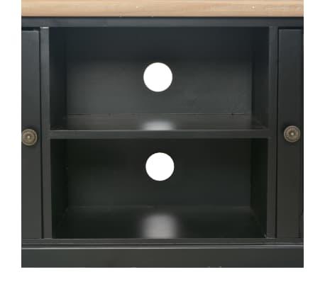 vidaXL TV-Schrank Schwarz 120×30×40 cm Holz[8/9]