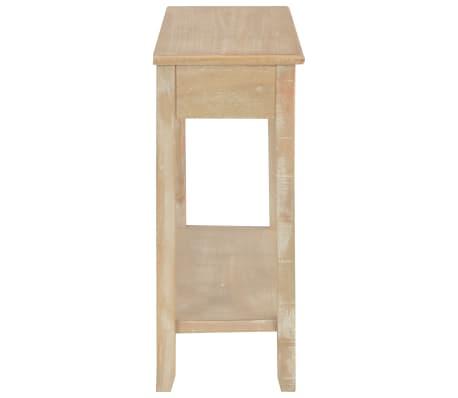 vidaXL Konsolinis staliukas, 110x35x80cm, mediena[5/8]