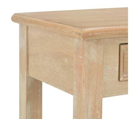vidaXL Konsolinis staliukas, 110x35x80cm, mediena[6/8]