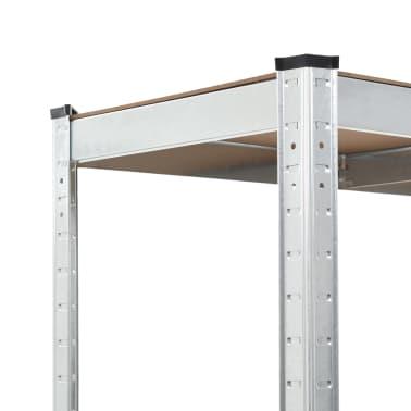 vidaXL Rafturi de depozitare, 2 buc, 90 x 40 x 180 cm, MDF[6/9]
