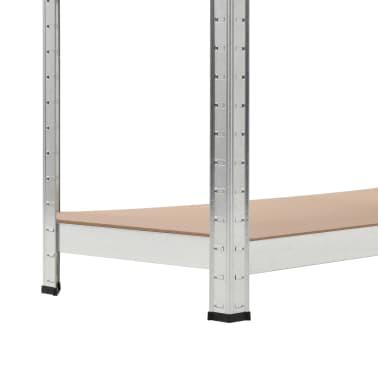 vidaXL Rafturi de depozitare, 2 buc, 90 x 40 x 180 cm, MDF[7/9]
