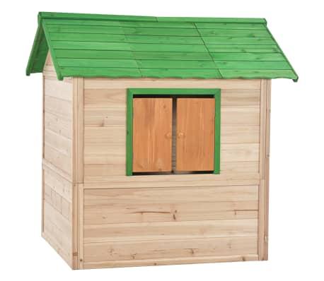 vidaXL Maison de jeu pour enfants Bois Vert[6/9]