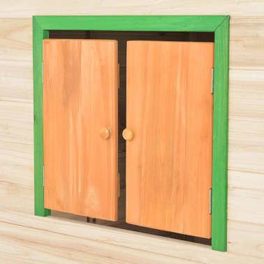 vidaXL Maison de jeu pour enfants Bois Vert[7/9]