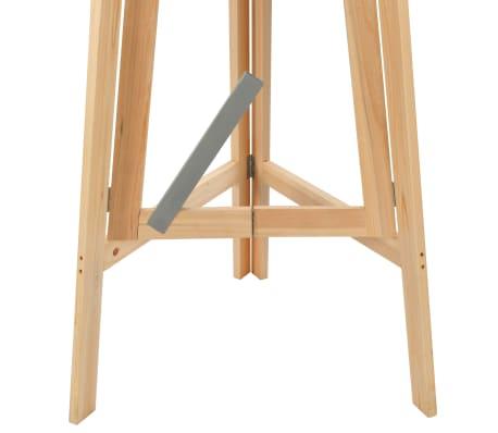 vidaXL Klappbarer Bartisch 78 cm Tannenholz[7/8]