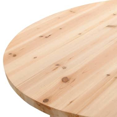 vidaXL Klappbarer Bartisch 78 cm Tannenholz[5/8]