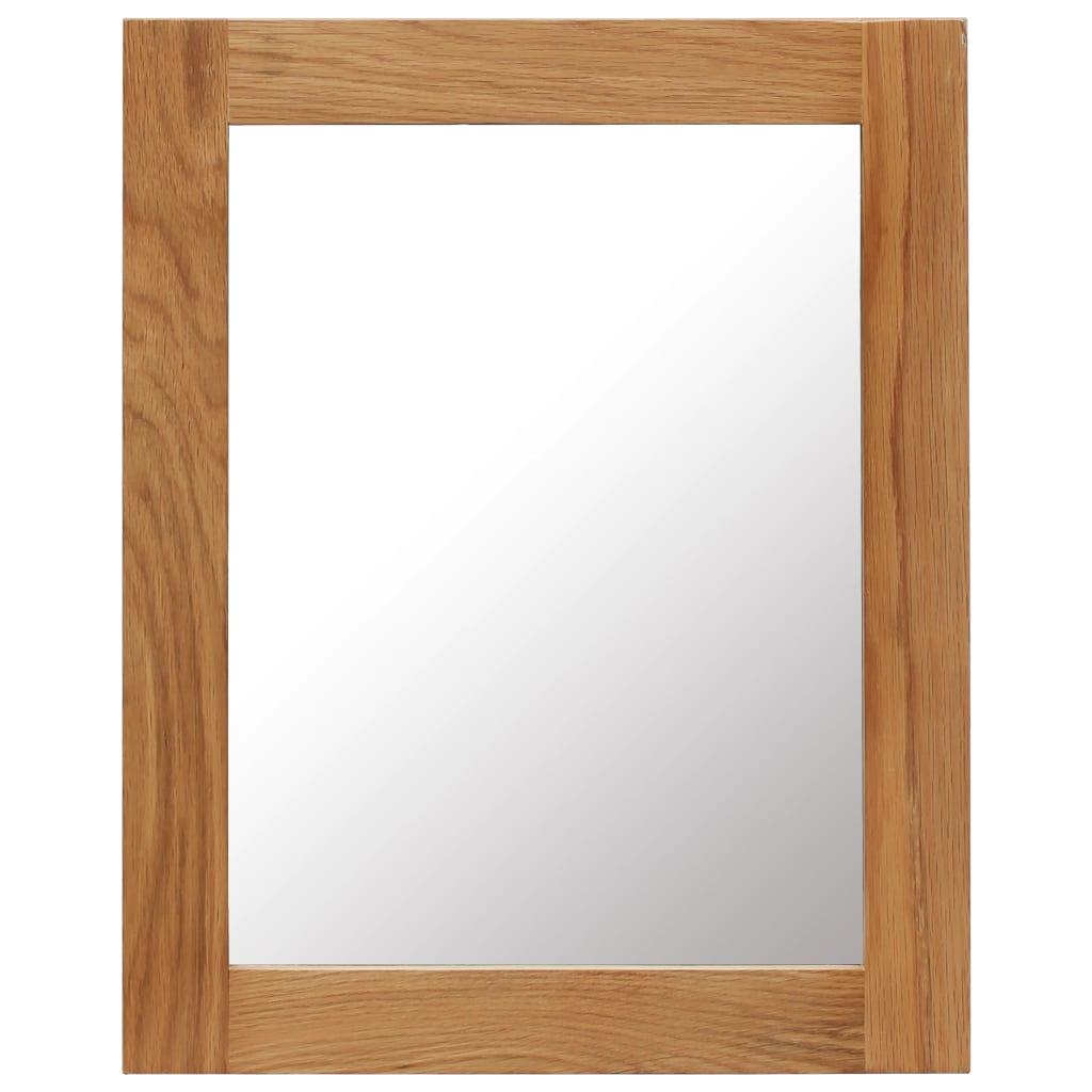 vidaXL Zrcadlo 40 x 50 cm masivní dub