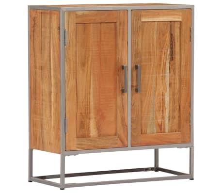 vidaXL Aparador 65x30x75 cm madeira de acácia maciça
