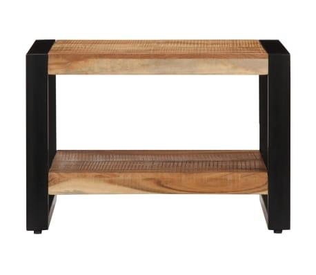 vidaXL Kavos staliukas, 60x60x40cm, akacijos med. masyvas[2/13]