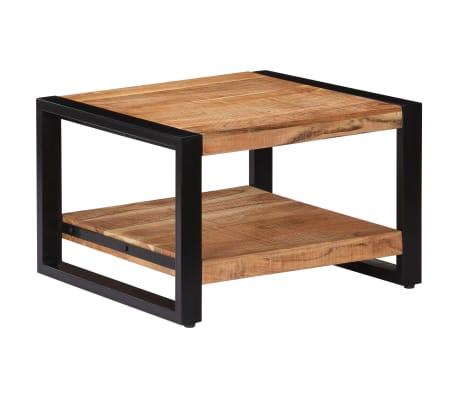 vidaXL Kavos staliukas, 60x60x40cm, akacijos med. masyvas[11/13]
