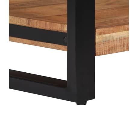 vidaXL Kavos staliukas, 60x60x40cm, akacijos med. masyvas[7/13]