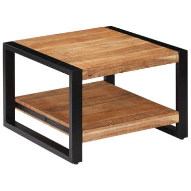 vidaXL Kavos staliukas, 60x60x40cm, akacijos med. masyvas[13/13]