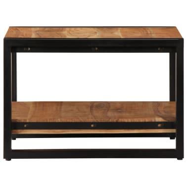 vidaXL Kavos staliukas, 60x60x40cm, akacijos med. masyvas[3/13]