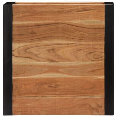 vidaXL Kavos staliukas, 60x60x40cm, akacijos med. masyvas[5/13]