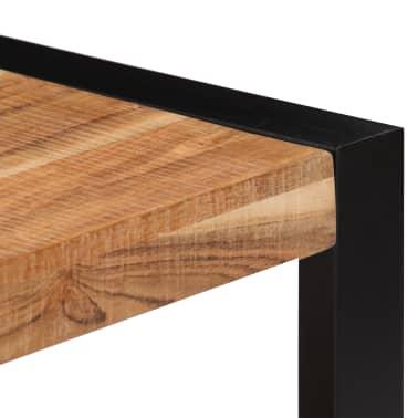 vidaXL Kavos staliukas, 60x60x40cm, akacijos med. masyvas[6/13]
