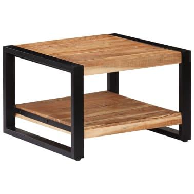 vidaXL Kavos staliukas, 60x60x40cm, akacijos med. masyvas[10/13]