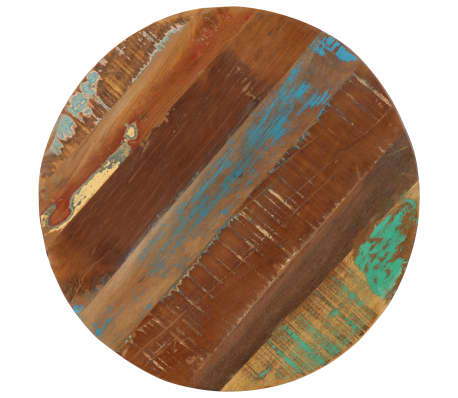 vidaXL Šoninis staliukas, 45x(45-62)cm, perdirbtos med. mas. ir ketus[3/12]