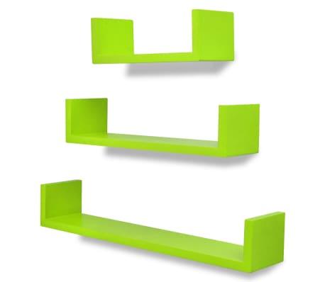 vidaXL Wandplanken 6 st groen