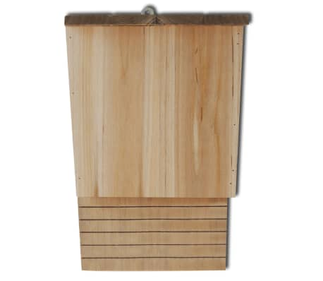 vidaXL Vleermuizenkasten 4 st 22x12x34 cm hout[4/5]