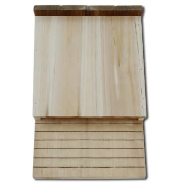vidaXL Vleermuizenkasten 4 st 22x12x34 cm hout[3/5]