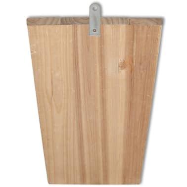 vidaXL Vleermuizenkasten 4 st 22x12x34 cm hout[5/5]