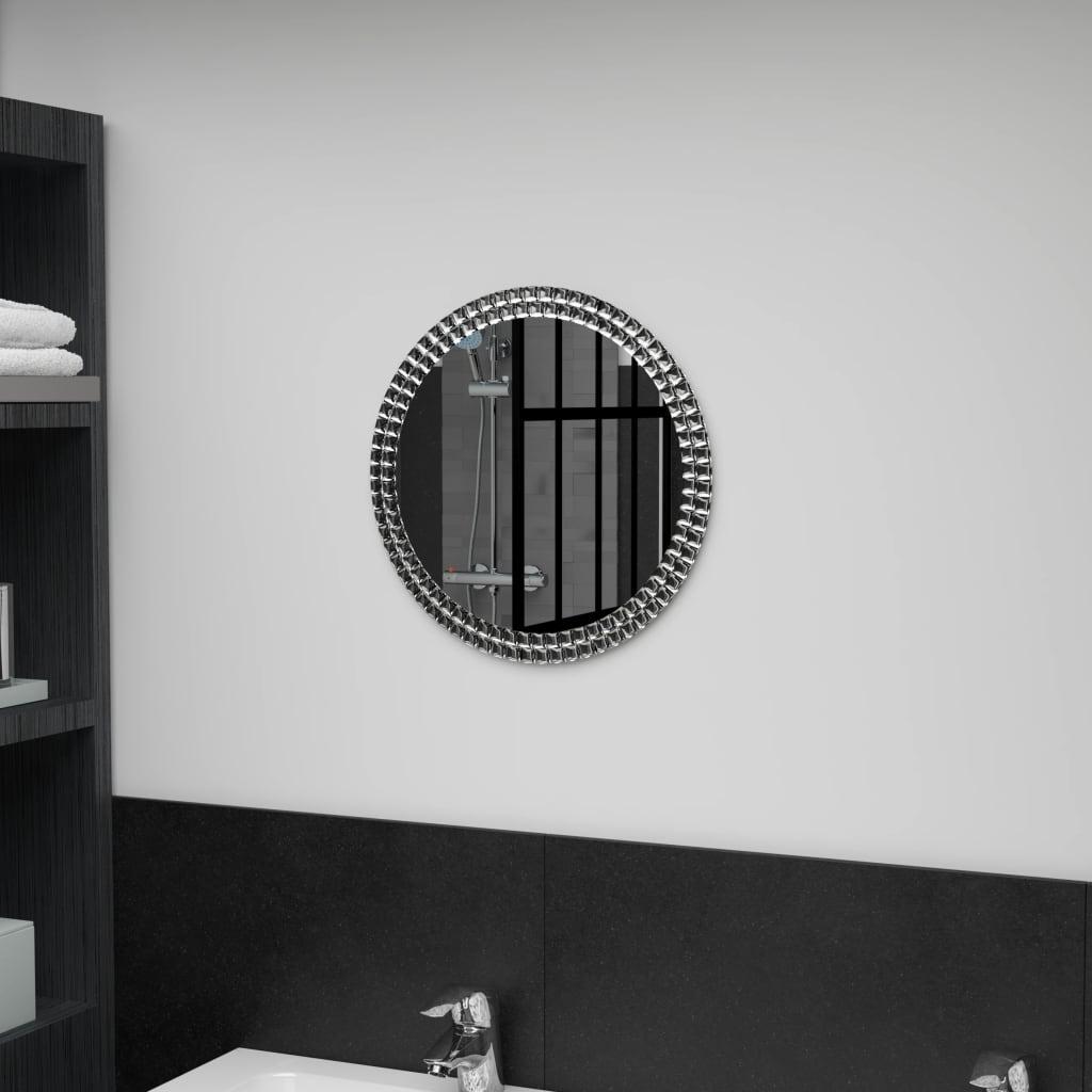 vidaXL Nástěnné zrcadlo 40 cm tvrzené sklo