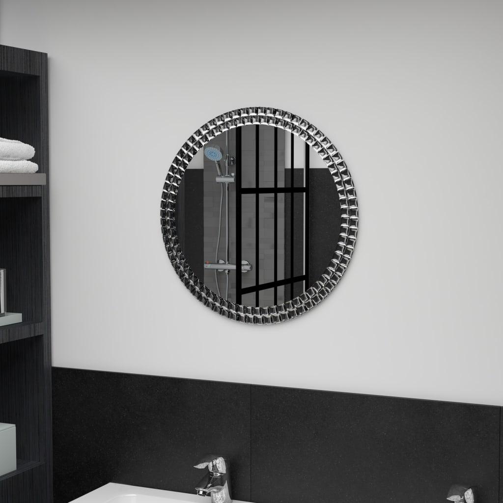 vidaXL Nástěnné zrcadlo 50 cm tvrzené sklo
