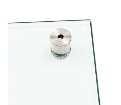 vidaXL Virtuvės sienelė, permatoma, 70x40 cm, grūdintas stiklas[4/9]