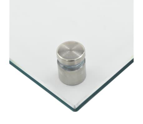vidaXL Virtuvės sienelė, permatoma, 70x40 cm, grūdintas stiklas[6/9]