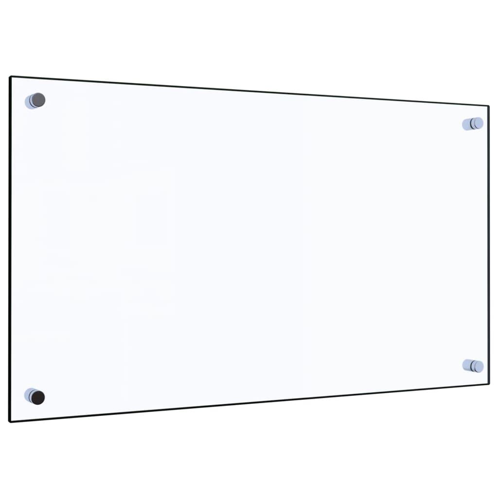 vidaXL Panou antistropi bucătărie transparent 70x40 cm sticlă securiz. vidaxl.ro
