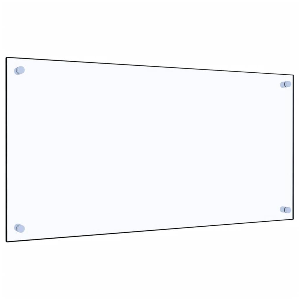 Kuchyňský panel průhledný 80 x 40 cm tvrzené sklo