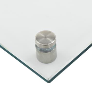 vidaXL Virtuvės sienelė, permatoma, 80x50 cm, grūdintas stiklas[6/9]