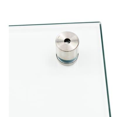 vidaXL Nuo tašk. apsaug. virt. sienelė, perm., 100x40cm, grūd. stiklas[4/9]