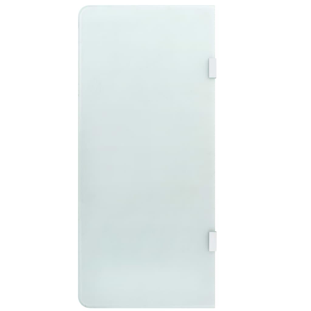 vidaXL Paravan intimitate pisoar de perete 90x40 cm sticlă securizată vidaxl.ro