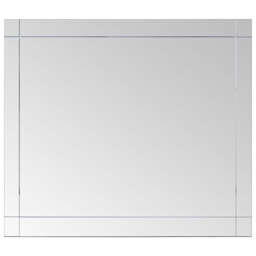 vidaXL-Wandspiegel-100x60cm-Glas-Spiegel-Badspiegel-Kosmetikspiegel-Deko Indexbild 2