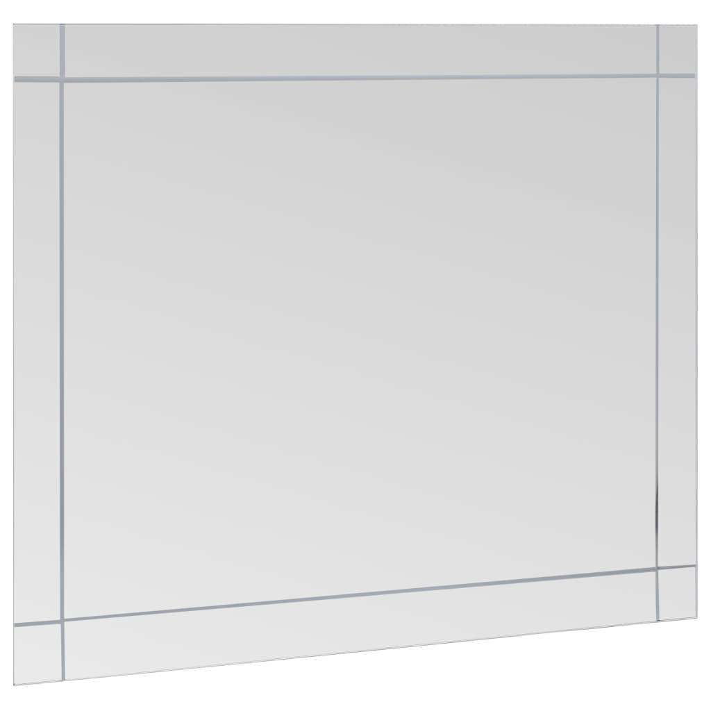 vidaXL-Wandspiegel-100x60cm-Glas-Spiegel-Badspiegel-Kosmetikspiegel-Deko Indexbild 3