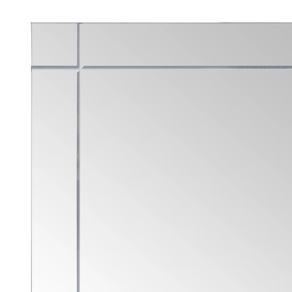 vidaXL-Wandspiegel-100x60cm-Glas-Spiegel-Badspiegel-Kosmetikspiegel-Deko Indexbild 5