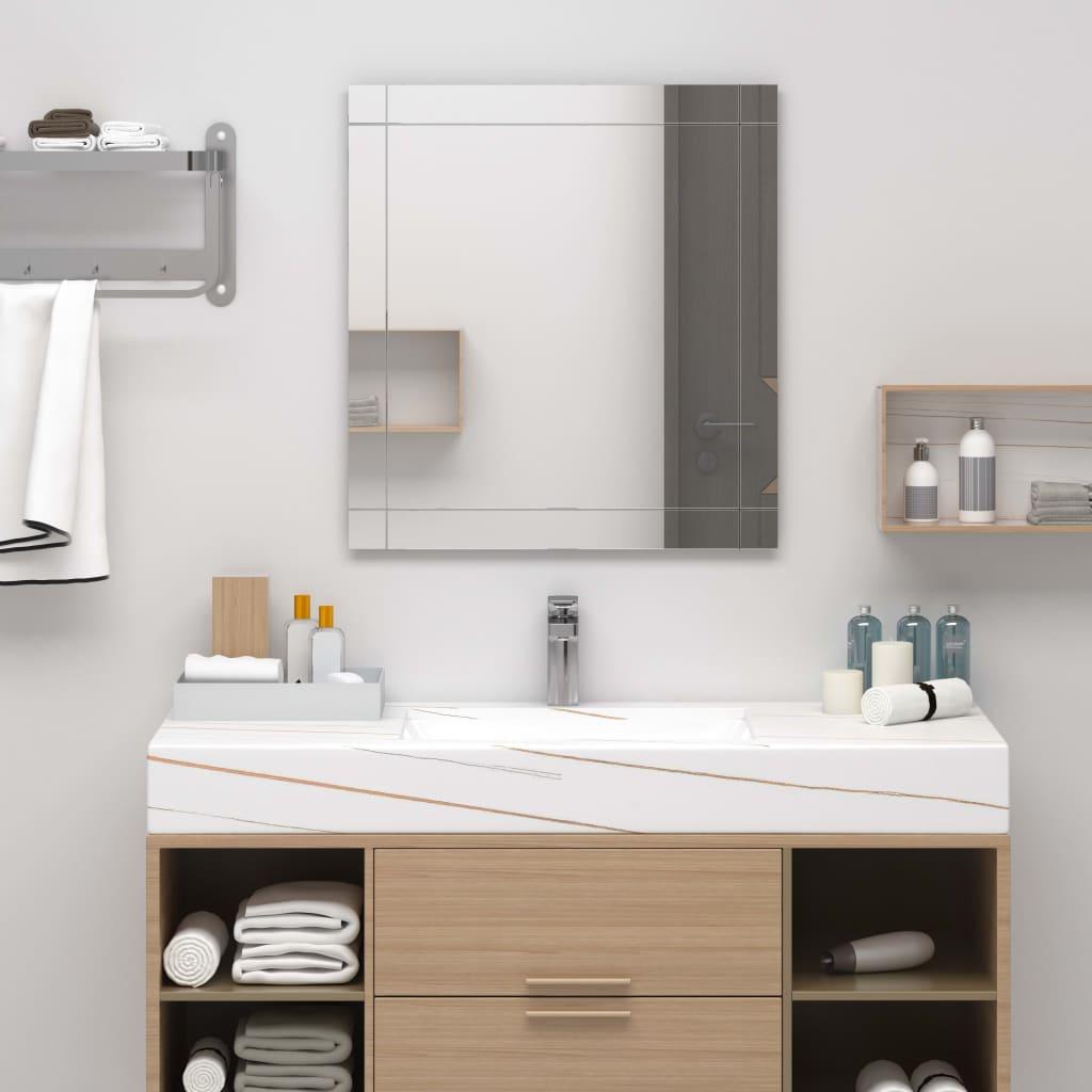 vidaXL-Wandspiegel-100x60cm-Glas-Spiegel-Badspiegel-Kosmetikspiegel-Deko