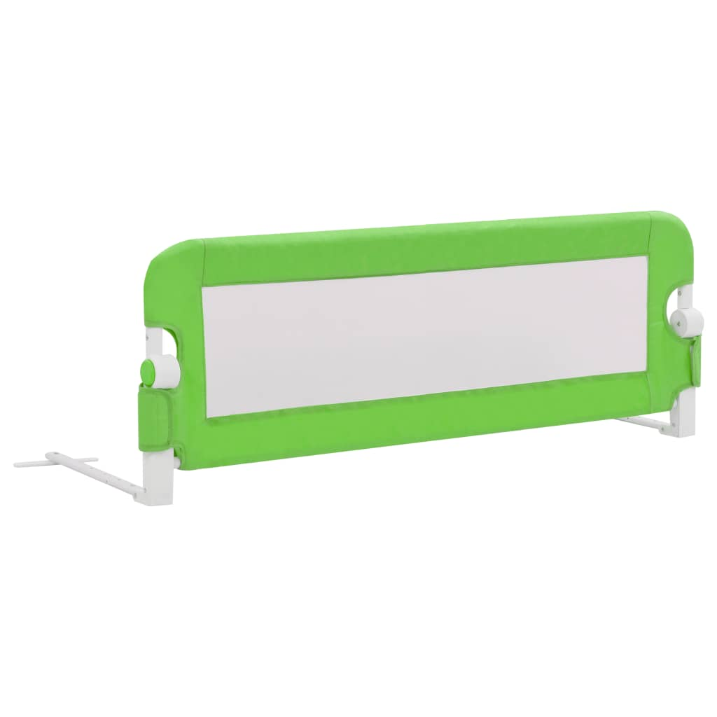vidaXL Dětská zábrana k postýlce zelená 120 x 42 cm polyester