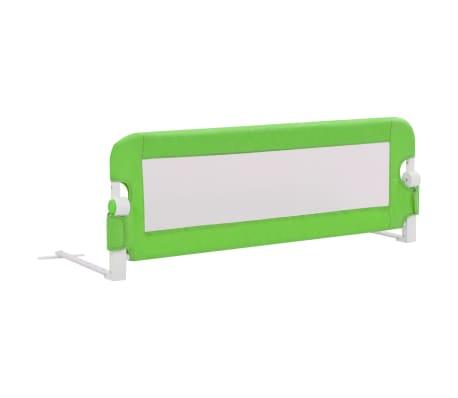 vidaXL Barrière de sécurité de lit enfant Gris 120x42 cm Polyester