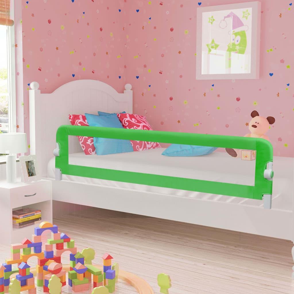 Voodipiire väikelapse voodile, roheline, 180 x 4..