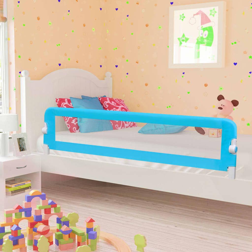 Voodipiire väikelapse voodile, sinine, 180 x 42 ..